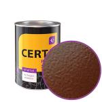 «Церта-Пласт» коричневая с молотковым эффектом 10 кг