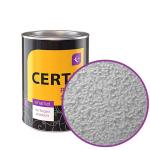 «Церта-Пласт» серебристая с молотковым эффектом 10 кг